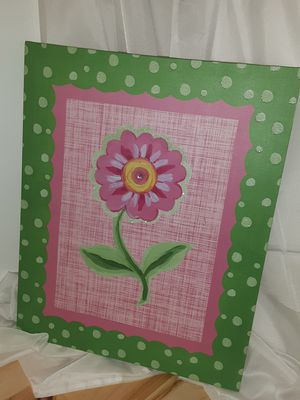 Home decor artwork for girl's bedroom for Sale in Indianapolis, IN