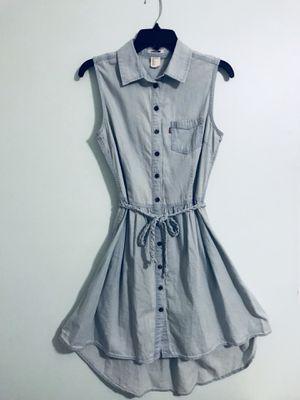 Levi's Light Blue High-low Dress Medium for Sale in Nashville, TN