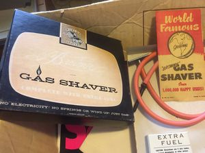 Gas Shaver Novelty Vintage Collectible Gag / Prank Gift - Fun Gift Idea for Sale in San Antonio, TX