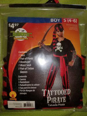 Pirate costume (small4-6) for Sale in Norwalk, CA
