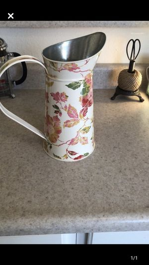 Farmhouse Metal Pitcher for Sale in Bloomington, IL