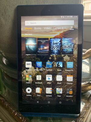 Amazon Fire Tablet (Blue) for Sale in Oklahoma City, OK