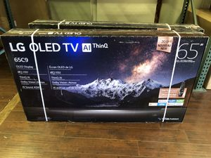 LG 65 inch OLED 4K TV C9 oled65C9p for Sale in Corona, CA