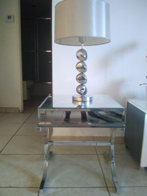 Mirrored Side Table for Sale in SUNNY ISL BCH, FL