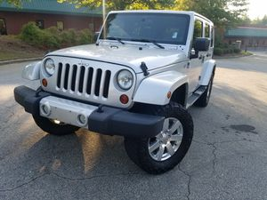 2011 Jeep Wrangler Unlimited 6Speed 4wd for Sale in Loganville, GA