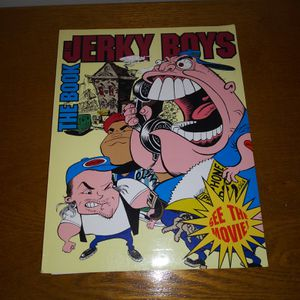 The Jerky Boys Book New Unused Rare vintage from the 90's for Sale in Chicago, IL