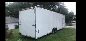 Cargo trailer 30ft / dual axles / extra height and many add ons . for Sale in Largo, FL