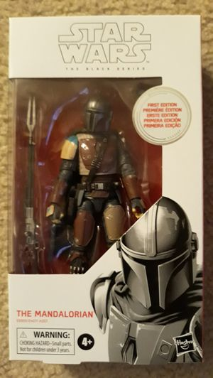 Star Wars Mandalorian Black Series First Edition for Sale in Las Vegas, NV