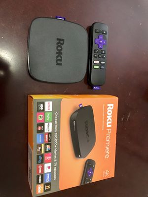 Roku Premiere 4k for Sale in Rocky Hill, CT