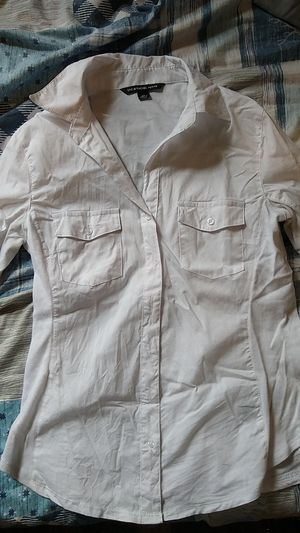 White Dress Long Shirt for Sale in Brooklyn, NY
