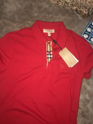 Burberry collar shirt for Sale in Lawrenceville, GA