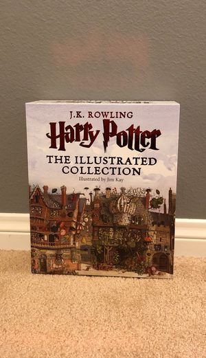 The illustrated books of Harry Potter book series 1-3 for Sale in Eastvale, CA