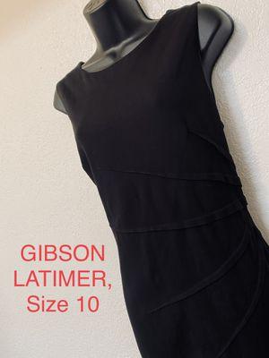 GIBSON LATIMER, Black Sleeveless Dress, Size 10 for Sale in Phoenix, AZ