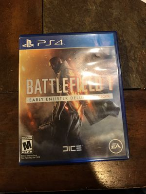 Ps4 BattleField1 for Sale in San Diego, CA