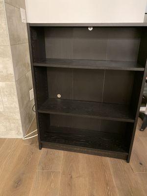 IKEA storage shelf, bookcase, Black for Sale in Kirkland, WA