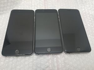 3x Apple iPhone 6 Plus 64GB, 128GB Unlocked *Do not turn on* for Sale in Brooklyn, NY