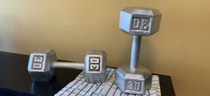 Dumbbell 30 lbs for Sale in Austell, GA