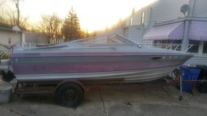 Boat and trailer for Sale in Maple Heights, OH