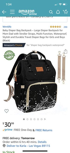 Diaper bag for Sale in Nellis Air Force Base, NV