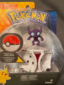 Pokemon Throw 'N' Pop Sableye + Poke Ball - Brand new for Sale in Houston,  TX