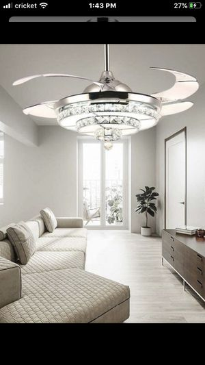 """Brand new 42"""" Fan with Led lights for Sale in Queens, NY"""