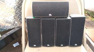5 JBL speakers and LG subwoofer for Sale in Grand Rapids, MI