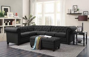 Black Sectional for Sale in Antioch, CA