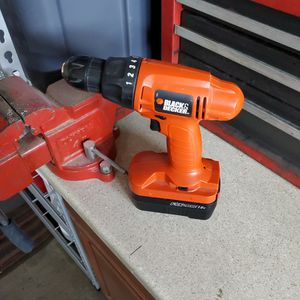 18v Black And Decker Drill for Sale in Henderson, NV