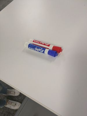 White board marker, blue and red for Sale in Anchorage, AK