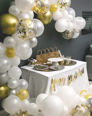 Balloon Garland Arch Kit for Birthday and Graduation for Sale in Los Angeles, CA