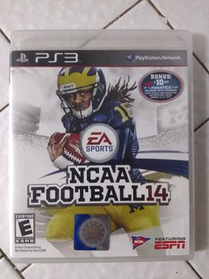 Ncaa Football 14 Ps3 for Sale in Fresno, CA