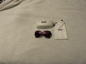 D&G purple sunglasses for Sale in Houston, TX