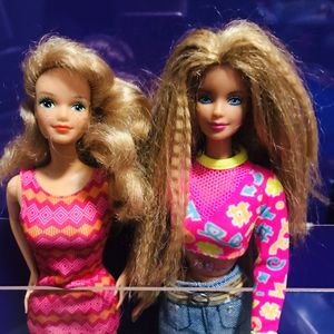 Midge and Barbie dolls vintage 80s for Sale in Garland, TX
