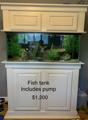 75 Gallon Fish tank (does NOT include fish) for Sale in Richardson, TX