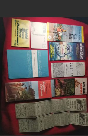 1950s Souvenirs And Brochures Of Southern California for Sale in Phoenix, AZ