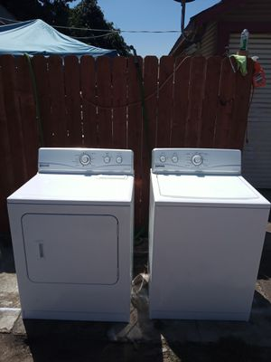 Maytag washer and gas dryer set for Sale in San Bernardino, CA