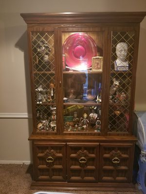China Cabinet with Light for Sale in Richmond, VA