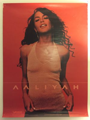 Aaliyah Poster for Sale in Washington, DC