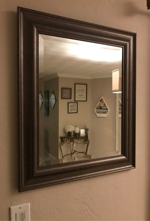 $10 23x25 inch mirror wall decor for Sale in Fort Lauderdale, FL