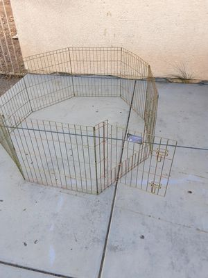 Wire dog exercise pen for Sale in Las Vegas, NV