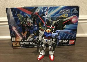 Bandai HG Gundam Seed Perfect Strike Action Figure Toy for Sale in Winter Garden, FL