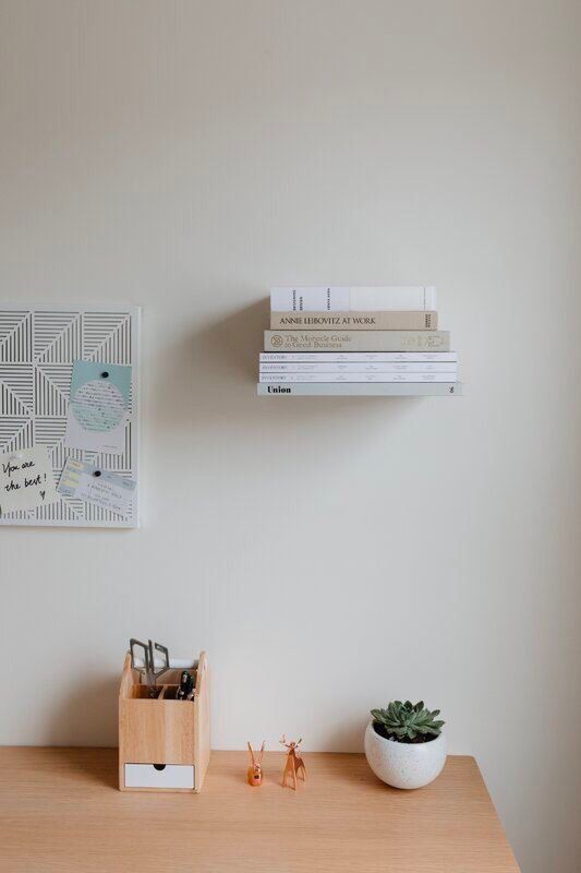 Conceal Wall Mounted Stainless Steel Shelves