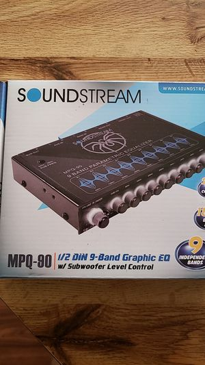 Car audio equalizer for Sale in Clewiston, FL