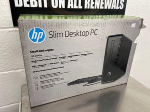 HP slim desktop pc computer for Sale in Portland, OR