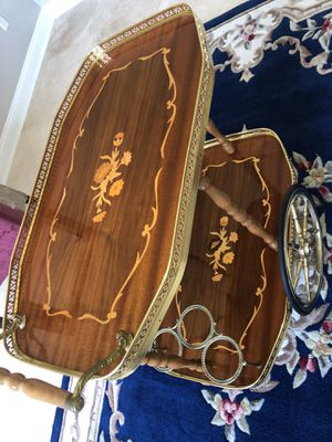 Gorgeous antique table from Miami Embassy part of history for Sale in Jacksonville, FL