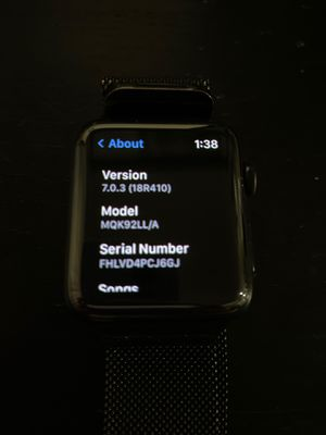 APPLE WATCH SERIES 3 STAINLESS STEEL GPS LTE CELLULAR 42MM for Sale in Anaheim, CA