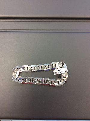 SILVER 925 BRACELET 1/2 in thick 9.5 in length 53 grams for Sale in Arlington Heights, IL