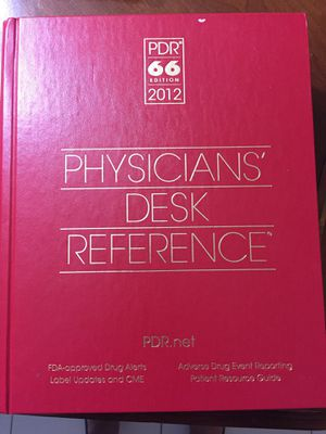 PHYSICIANS DESK REFERENCE BOOK for Sale in Delray Beach, FL