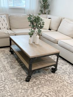Industrial Farmhouse Coffee Table for Sale in Auburn,  WA