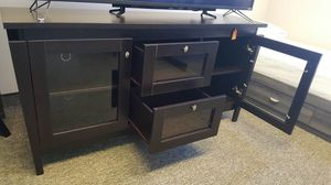 TV Stand up to 70in TVs, Espresso Finish, SKU 29307 for Sale in Garden Grove, CA